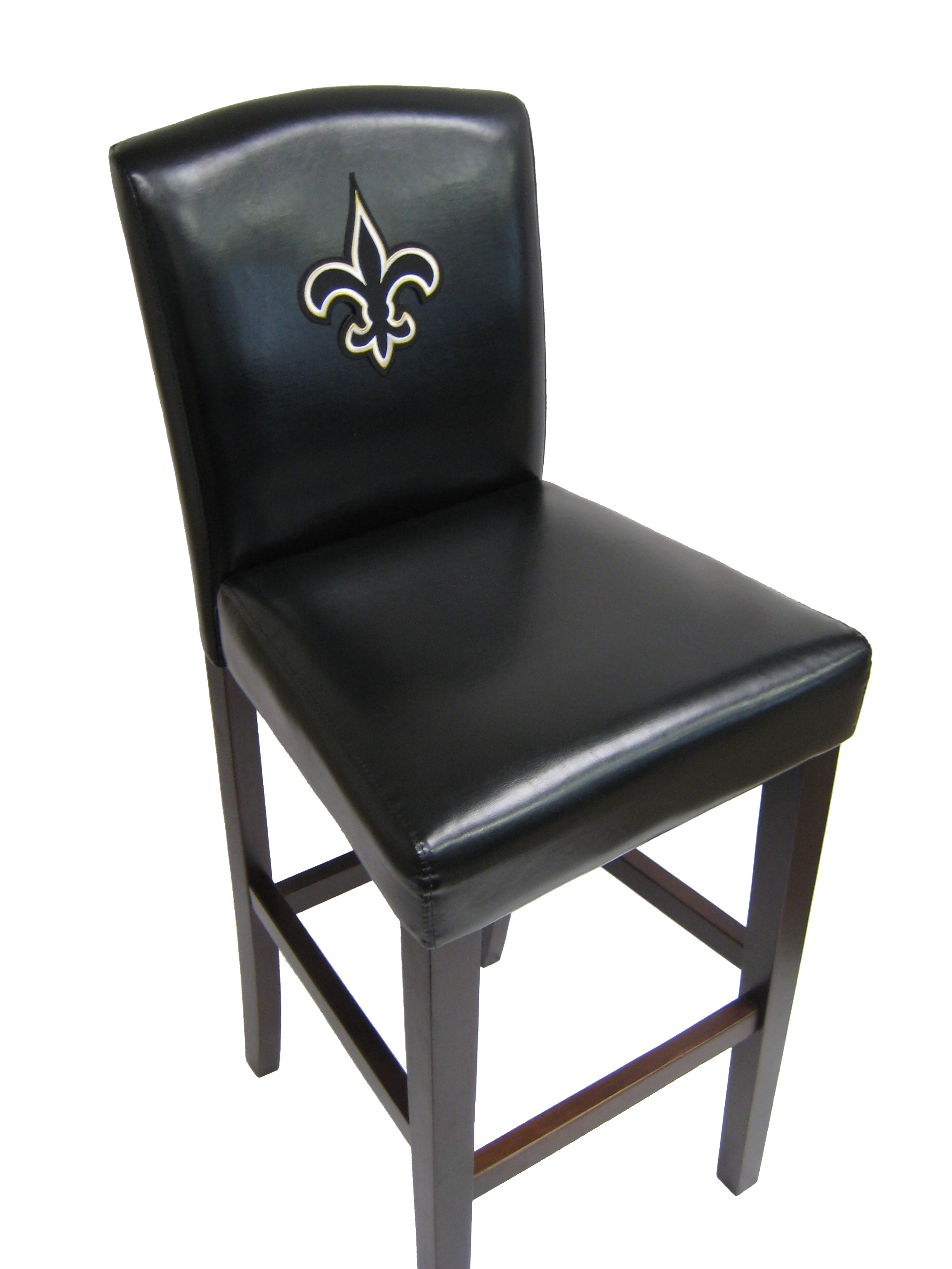 "NFL 24"" Bar Stool with Cushion (Set of 2)"