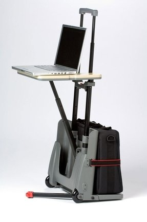 Portable laptop cart