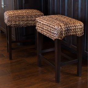 "Seagrass 25"" Bar Stool (Set of 2)"