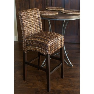 "Seagrass 31.5"" Bar Stool"