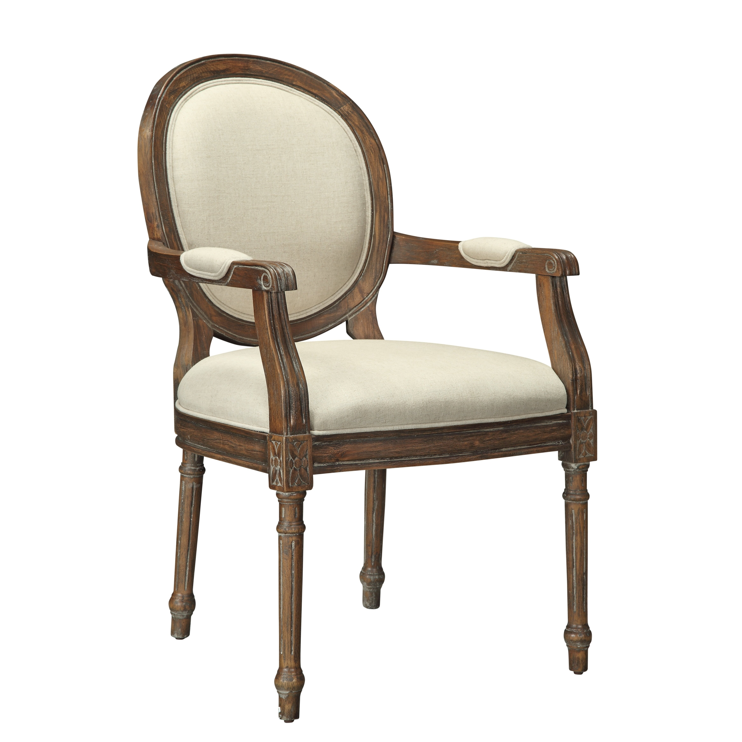 Accent Chair  sc 1 st  Foter & Upholstered Carved Wood Accent Chair - Ideas on Foter