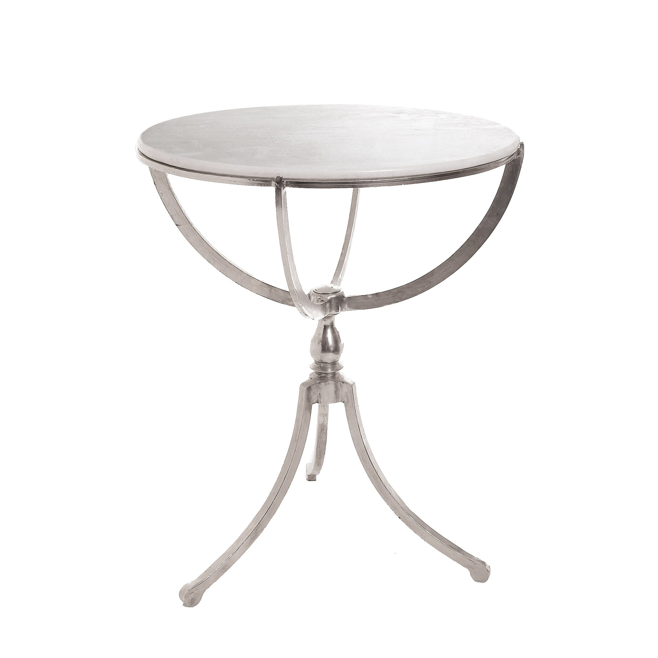Art Deco Round End Table