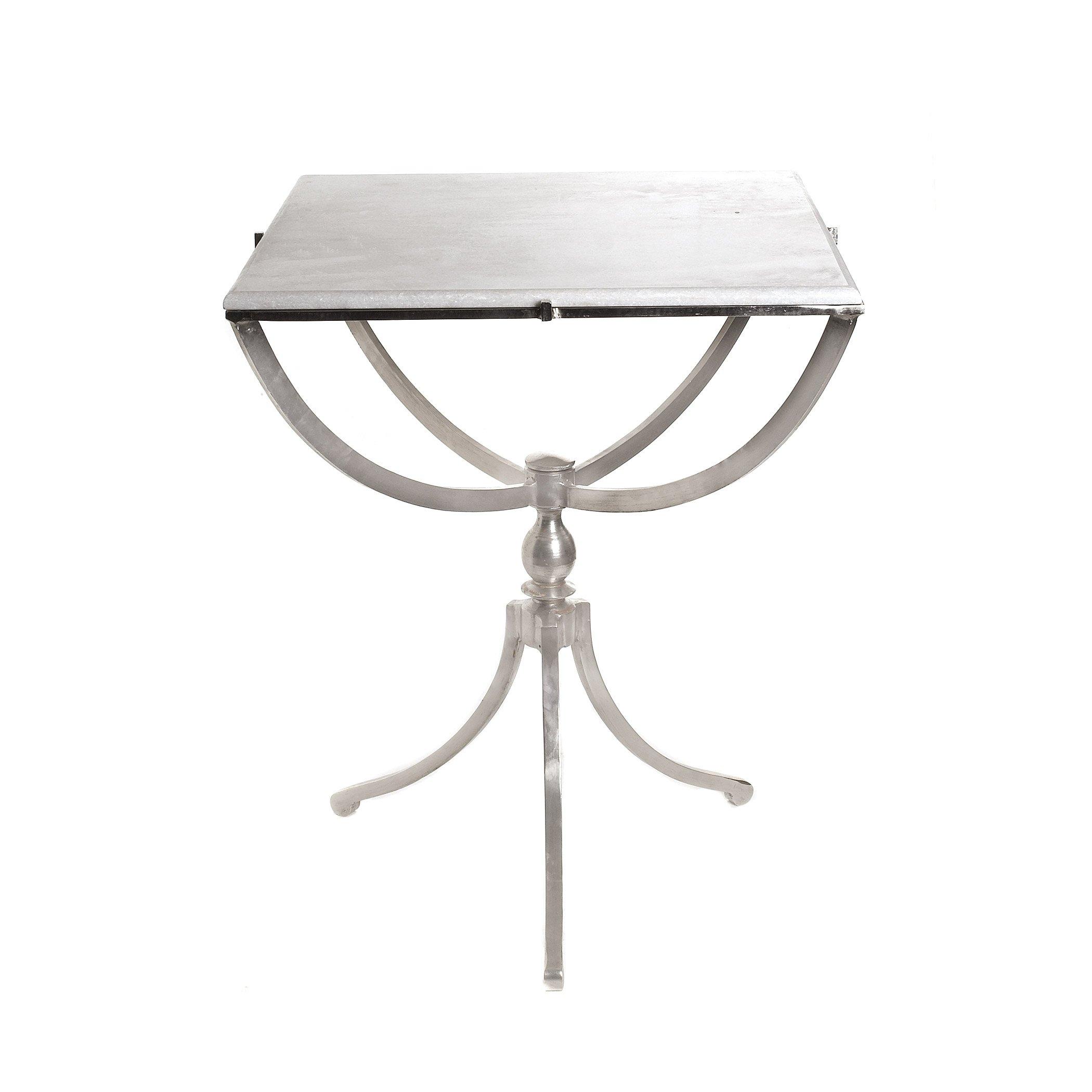 Art Deco Square End Table