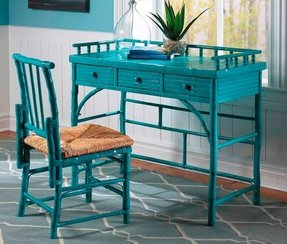 Coastal Chic Petite Writing Desk with Chair