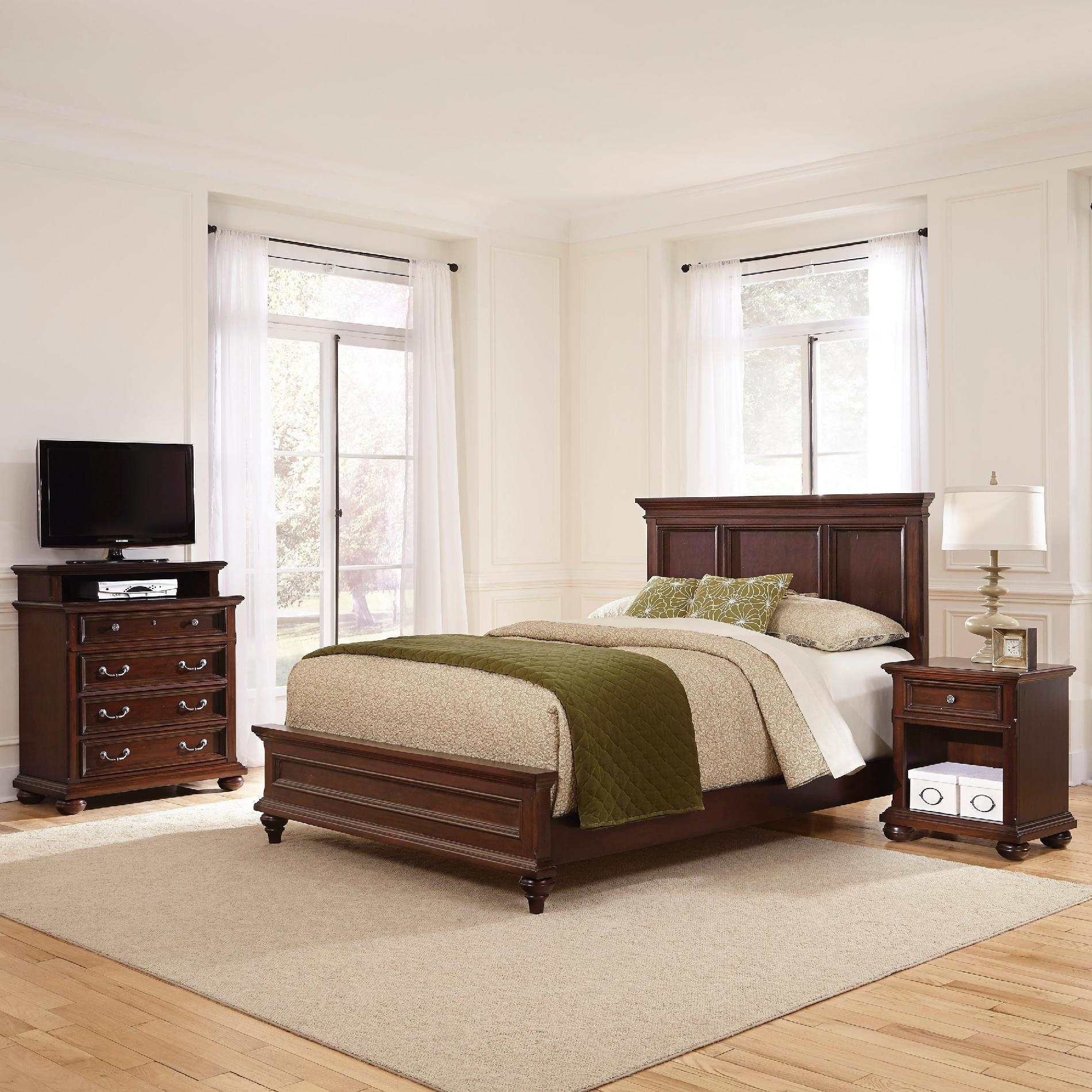Perfect Colonial Classic Panel Customizable Bedroom Set