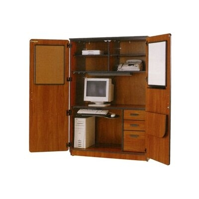 Bon Illusions Armoire Desk With Locking Doors