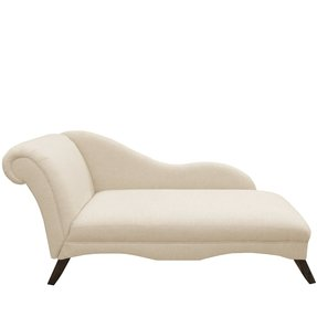 Linen Chaise Lounge
