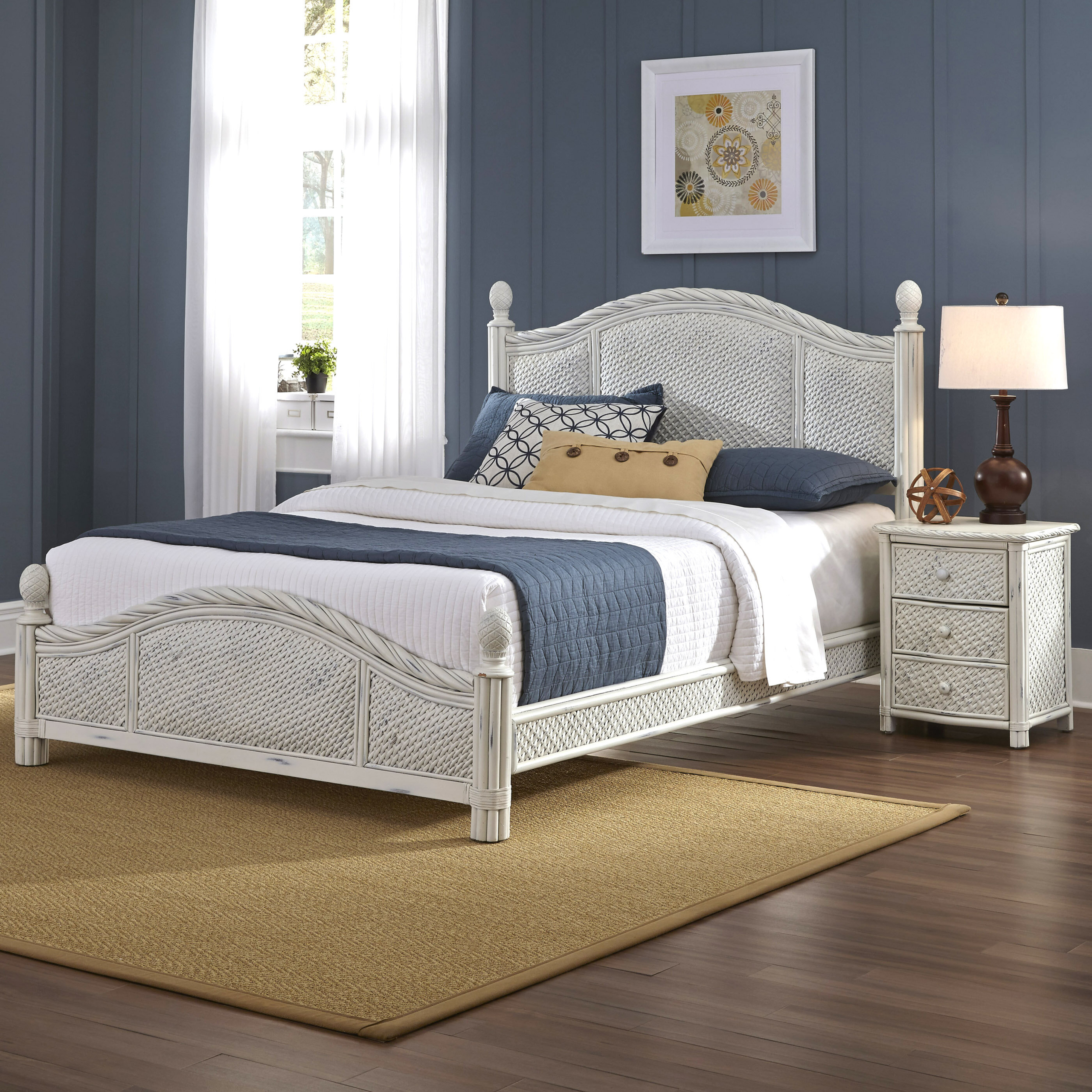 Marco Island Panel 2 Piece Bedroom Set