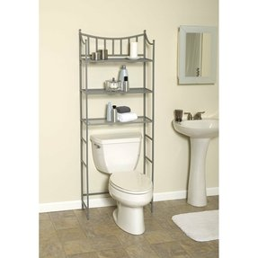 "Medina 66.38"" x 25.19"" Over the Toilet Bathroom Shelf"