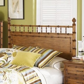 Palm Bay Wood Headboard