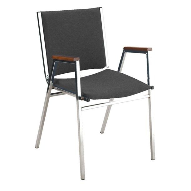 Ordinaire Durable Metal Chair Made Of 18 Gauge Square Tubing. This Simple Chair Is A  Great Solution For Schools Or Conference Centers As They Can Be Stacked Up  To 12 ...