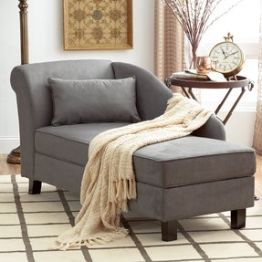 Awe Inspiring Grey Chaise Lounge Ideas On Foter Ibusinesslaw Wood Chair Design Ideas Ibusinesslaworg