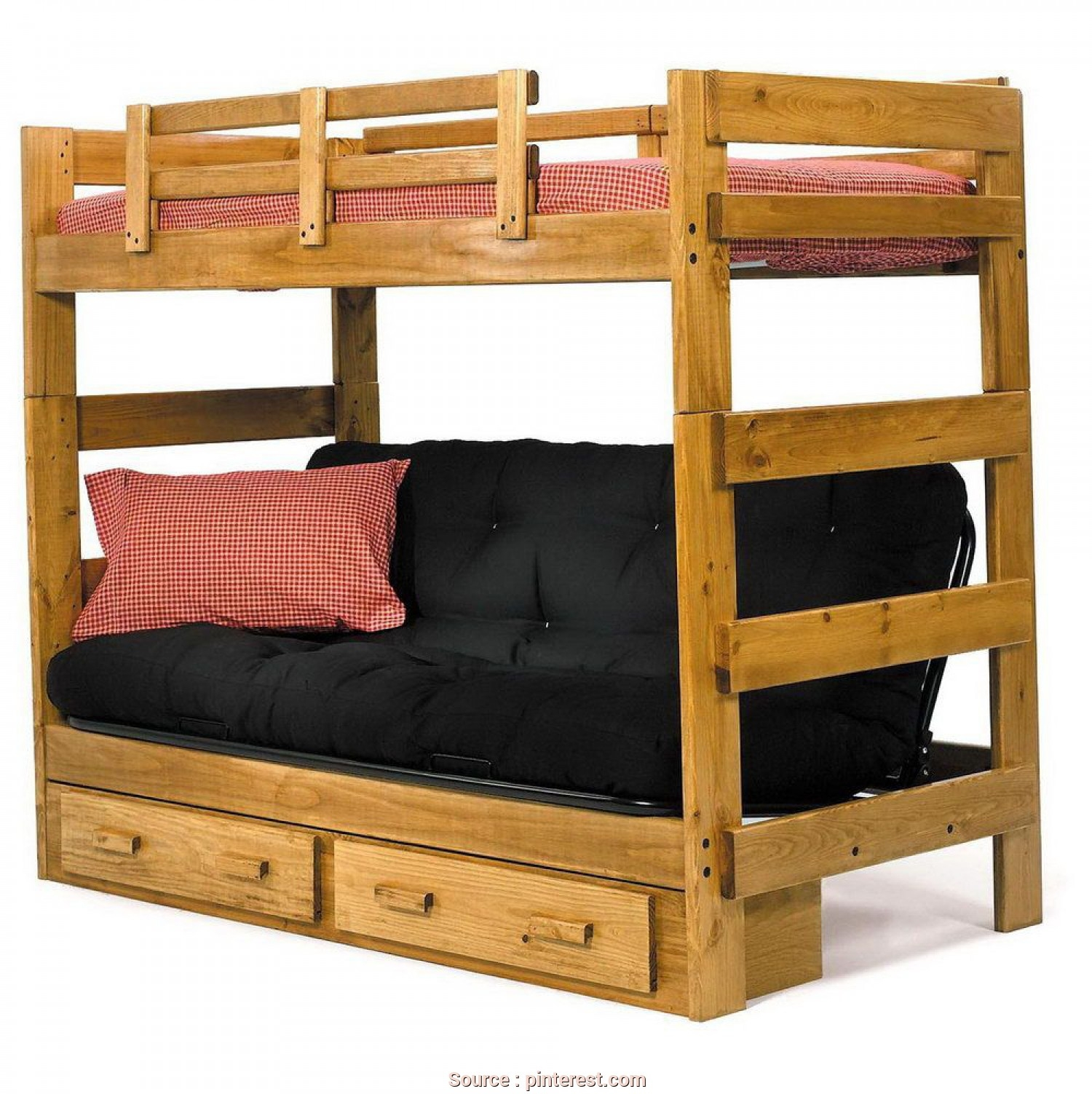 twin over futon standard bunk bed with underbed storage bunk bed with desk and futon   foter  rh   foter