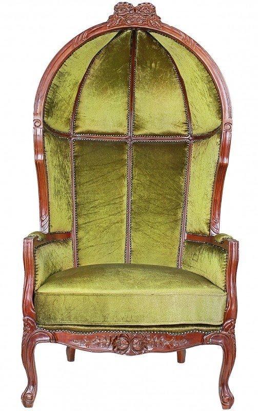 Victorian Lady Alcott Balloon Chair