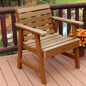 Wooden Garden Chairs - Foter