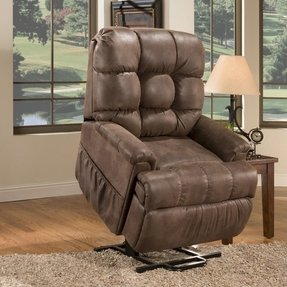 Wide Infinite Position Lift Chair
