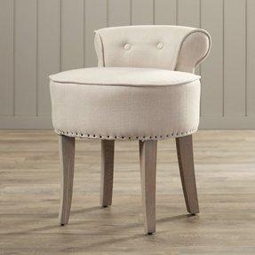 Zita Vanity Stool Bathroom Chairs And Stools  Foter
