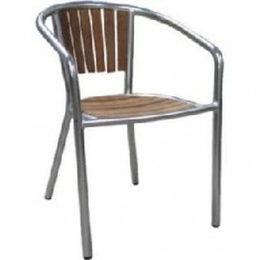 Bridgeport teak outoor arm chair