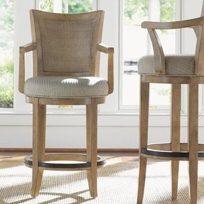 Monterey Sands 24 5 Swivel Bar Stool With Cushion