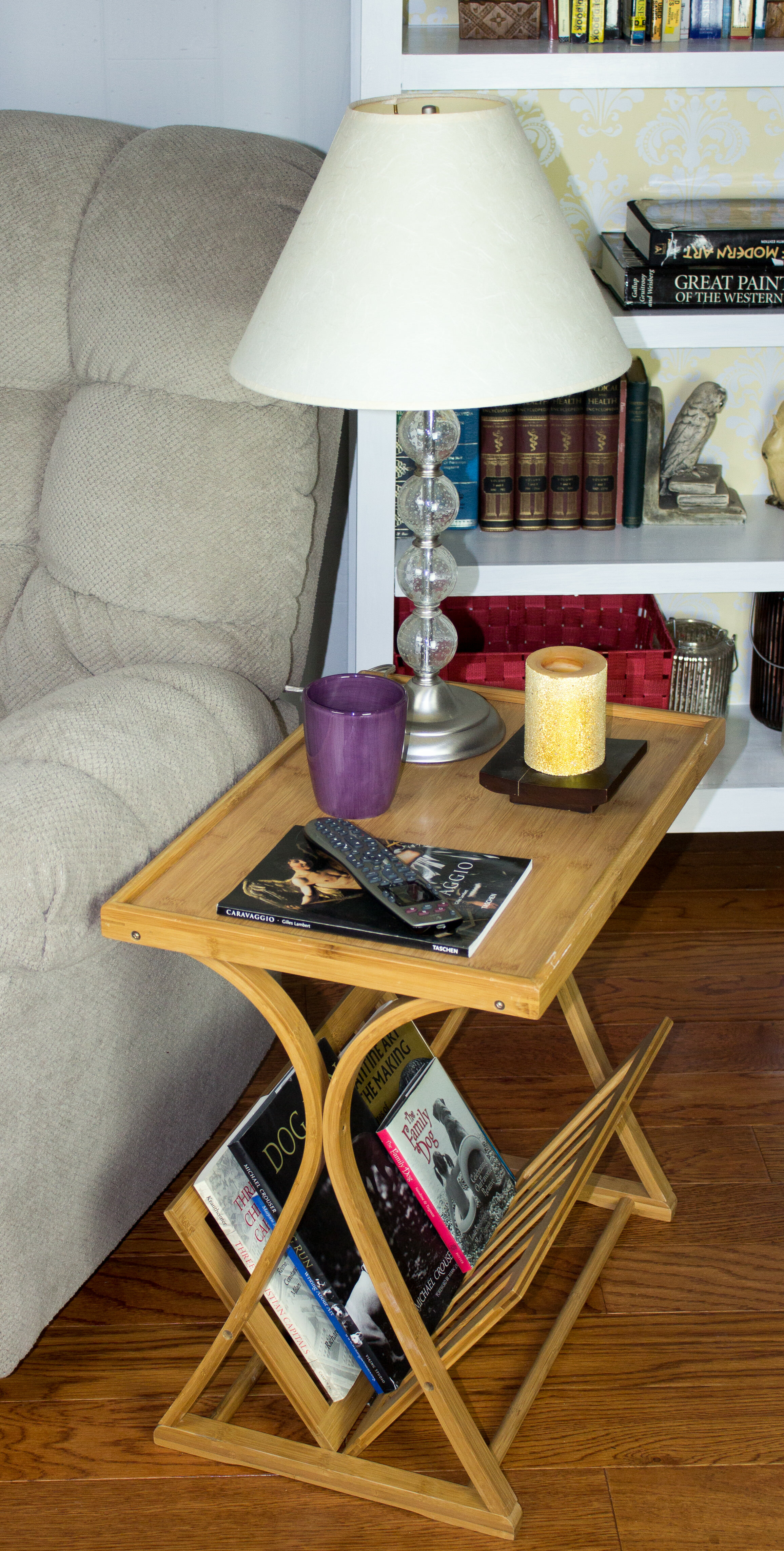 Tivoli Bamboo End Table