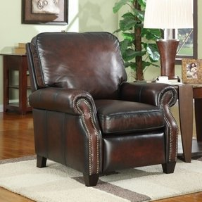 Leather Recliner With Nailhead Trim - Ideas on Foter