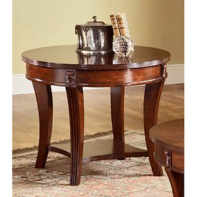 Wellington End Table in Cherry