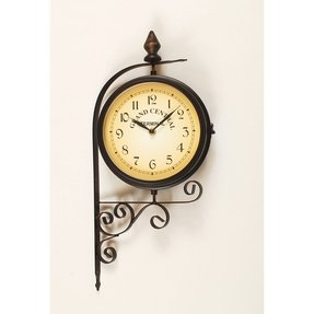 Outdoor Clock And Thermometer Set - Foter