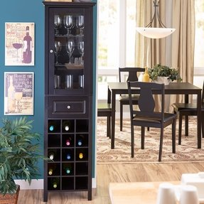 Wine Glass Cabinets - Foter