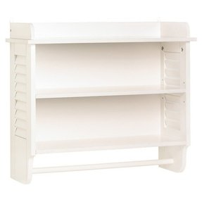 "23.75"" x 20"" Wall Mounted Bathroom Shelf"