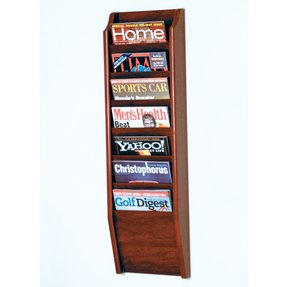 Wood Wall Magazine Rack Ideas On Foter