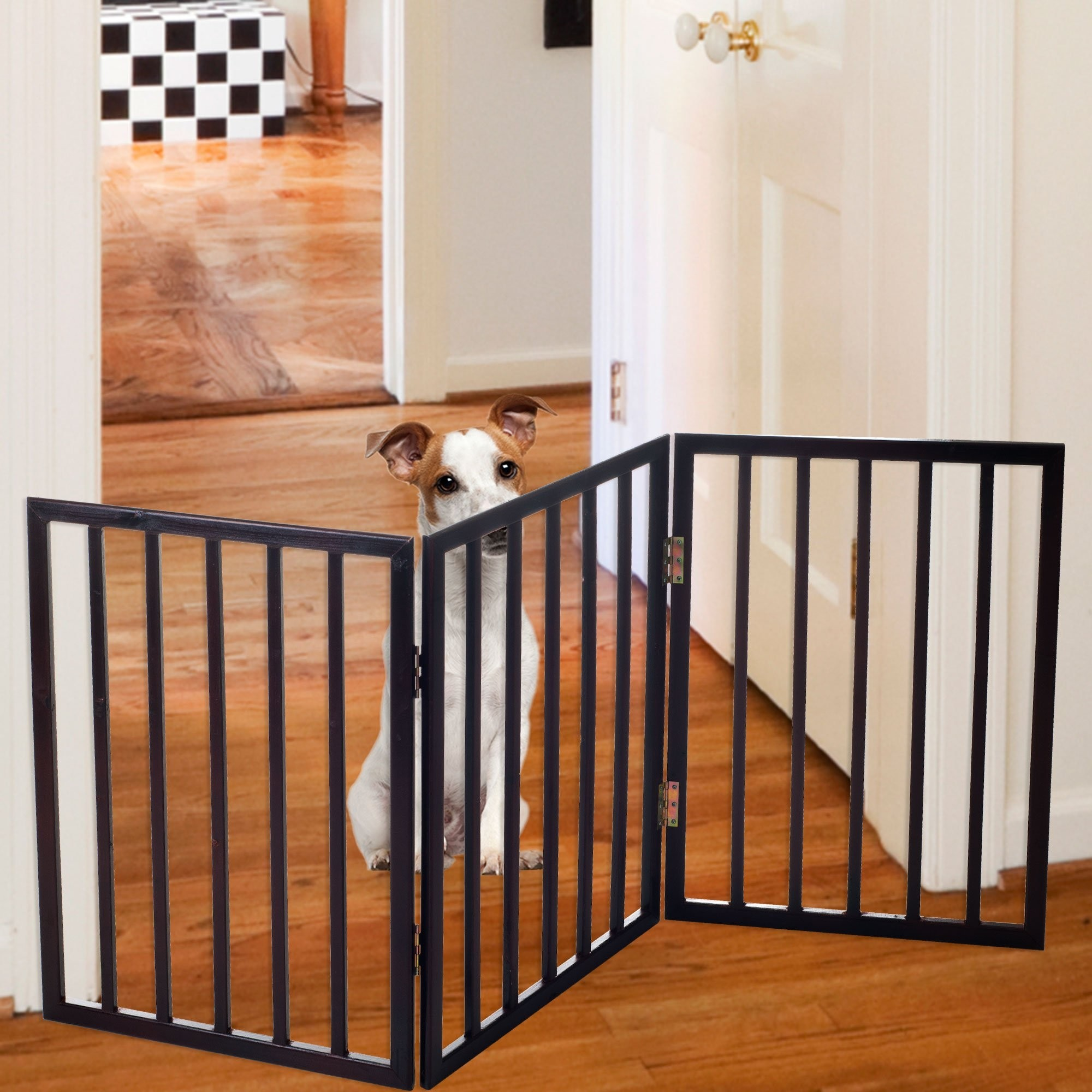 Easy Up Folding Pet Gate