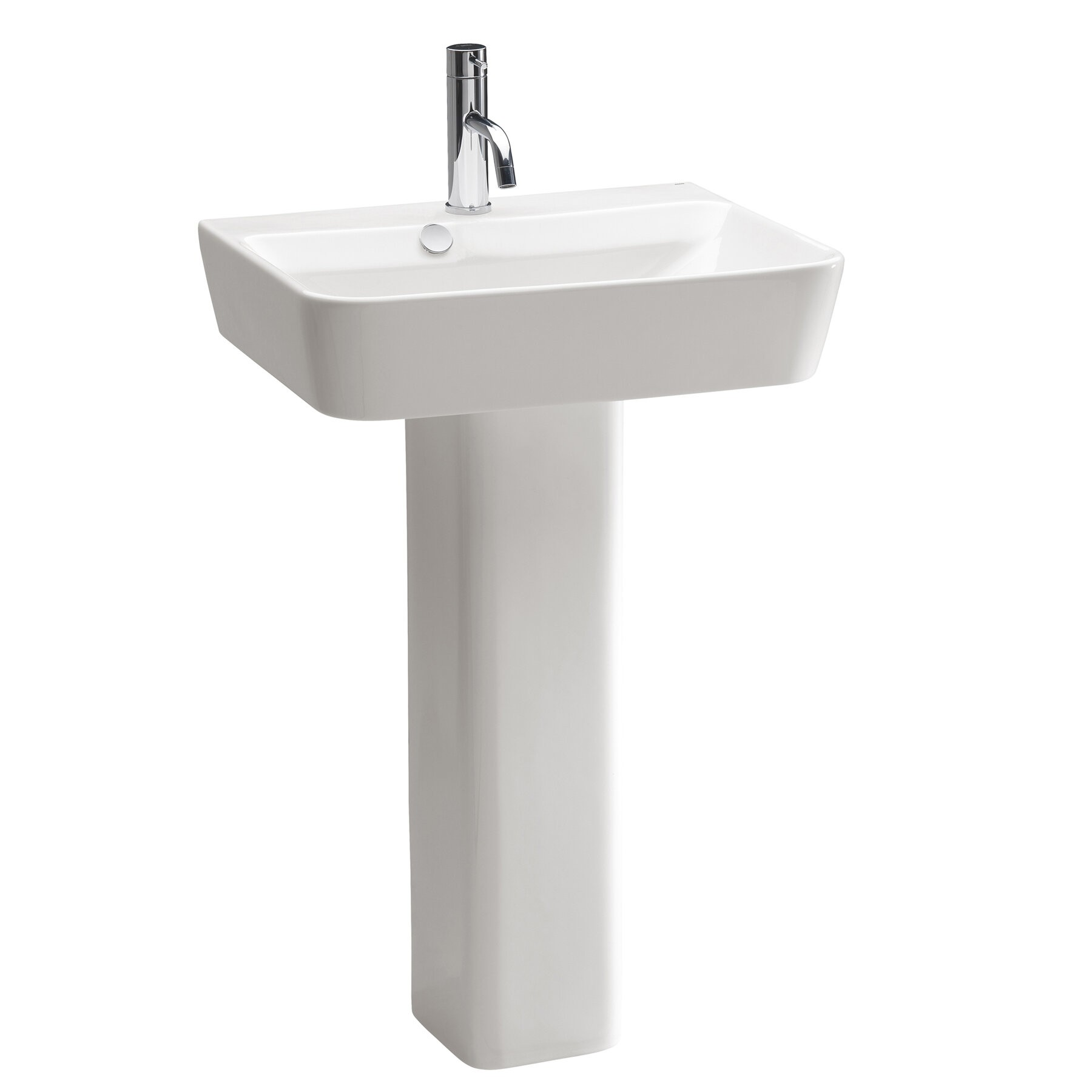 Merveilleux Emma Pedestal Bathroom Sink