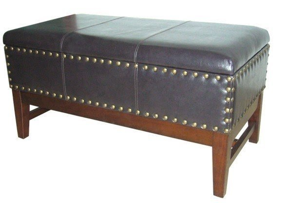 Faux Leather Storage Bench  sc 1 st  Foter & Leather Storage Benches - Foter