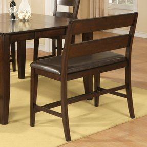 Dining Table Benches With Backs - Ideas on Foter