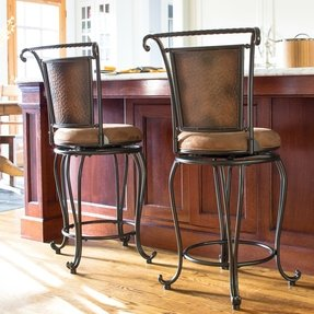 Astounding Copper Barstools Ideas On Foter Bralicious Painted Fabric Chair Ideas Braliciousco