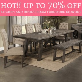 Foter Photos 373 Newberry 7 Piece Dining Table