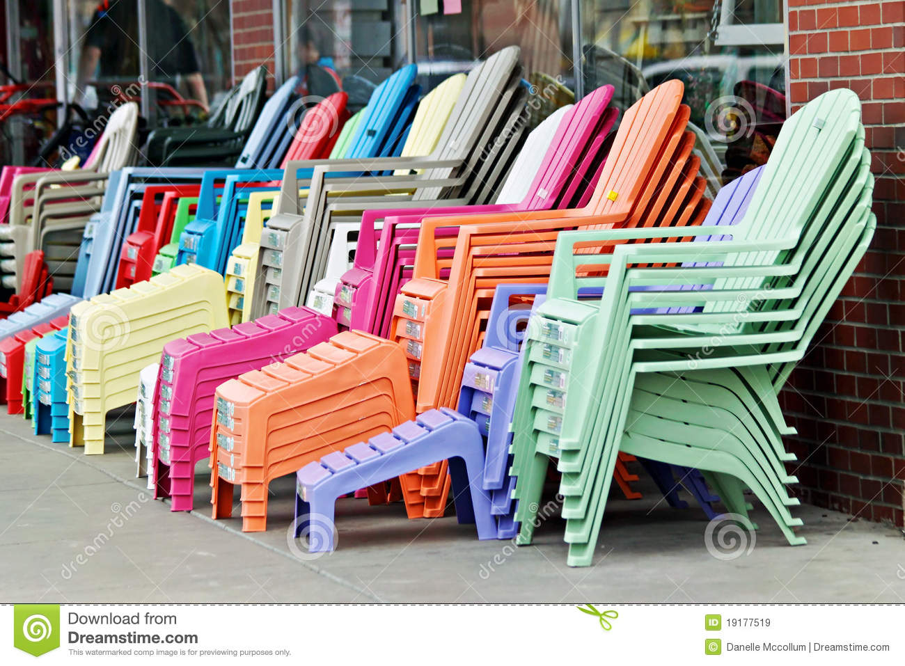 Resin adirondack chairs