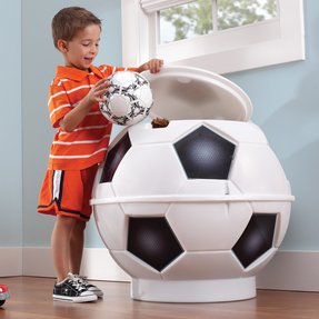 Soccer Ball Toy Storage Bin