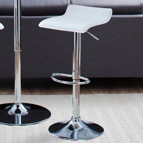Adjustable Height Airlift Bar Stool