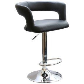Upholstered Arm Swivel Bar Stool Foter