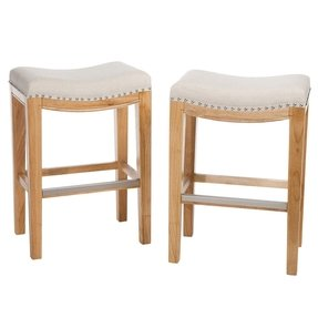 "Avondale 26.2"" Bar Stool with Cushion (Set of 2)"