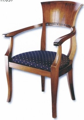 Biedermeier dining arm chairs 3