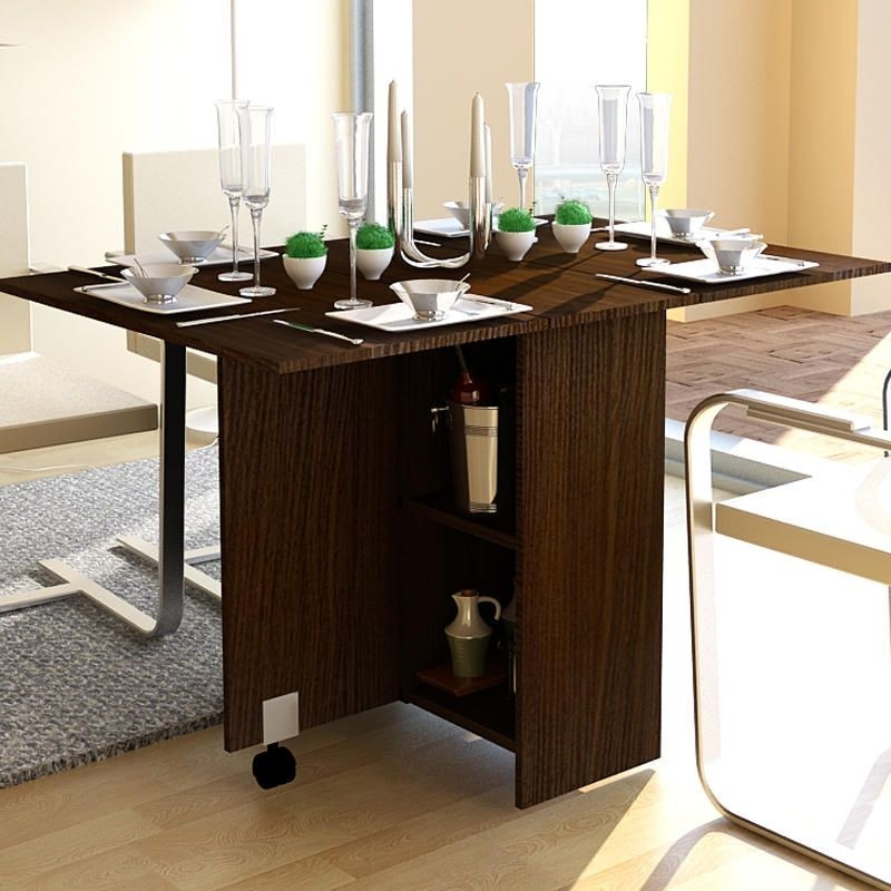 Boyate Extendable Dining Table & Kitchen Table With Storage Underneath - Foter