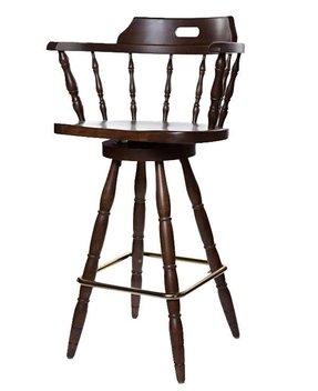 "Captains 31.5"" Swivel Bar Stool with Cushion (Set of 6)"