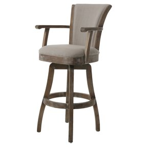 Glenwood 26 Swivel Bar Stool With Cushion
