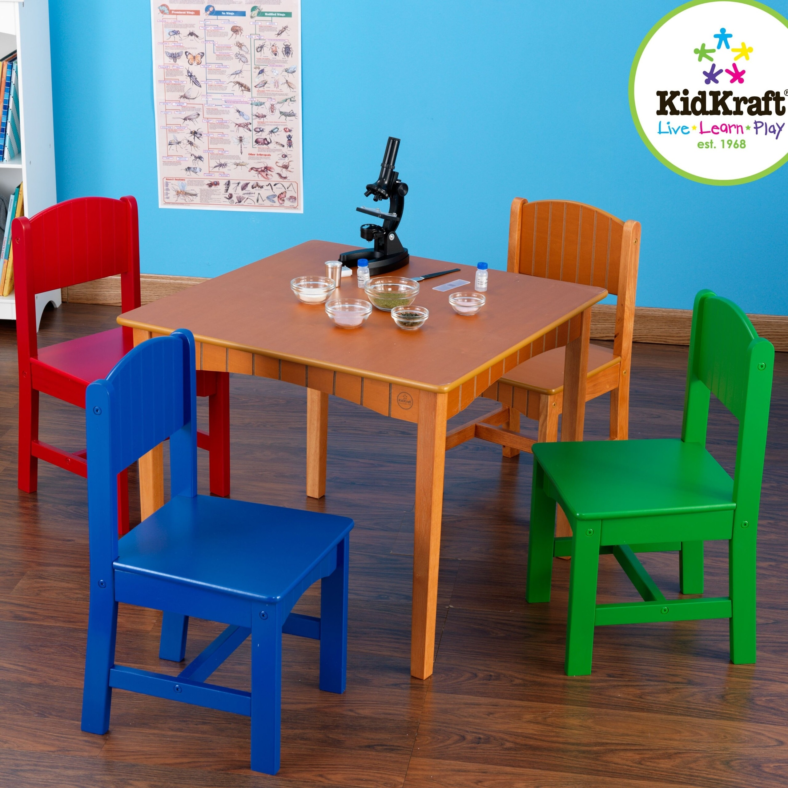 Nantucket Kids 5 Piece Table and Chair Set