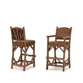 Rustic barstool 1394 1396 by la lune collection rustic barstool