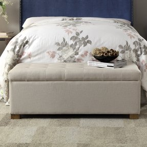 King Size Bed Bench - Foter
