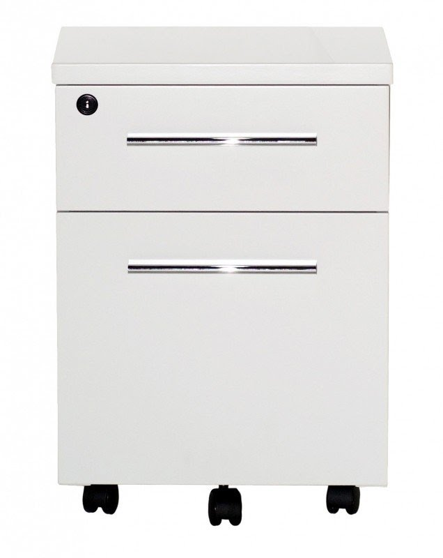 Attrayant 2 Drawer Mobile File Cabinet With Lock U0026 Casters