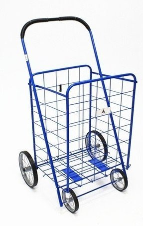 "41"" Rolling Shopping Cart"